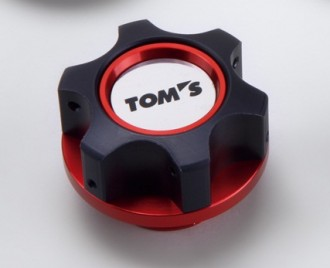 TOM'S Oil Filler Cap (Red)