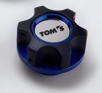 TOM'S Oil Filler Cap (Blue)