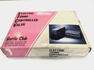 Electric Turbo Controller Valve